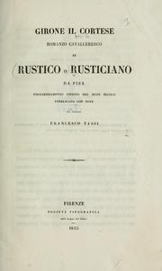 Cover of: Girone il cortese | Rusticiano da Pisa