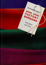 Cover of: Hong Kong Factory bargains by Dana Goetz