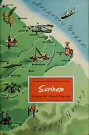 Cover of: Surinam | Ivan Terence Sanderson