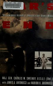 Cover of: War's end by Charles W. Sweeney