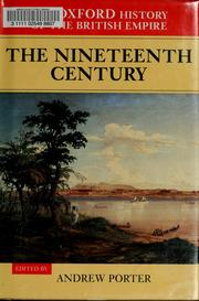 Cover of: The nineteenth century by A. N. Porter