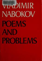 Cover of: Poems and problems | Vladimir Nabokov