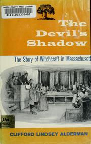 Cover of: The devil's shadow | Clifford Lindsey Alderman