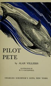 Cover of: Pilot Pete by Alan Villiers