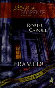 Cover of: Framed! by Robin Caroll