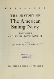 The history of the American sailing Navy by Howard Irving Chapelle