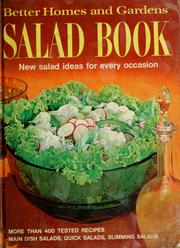 Cover of: Salad book by Better Homes and Gardens