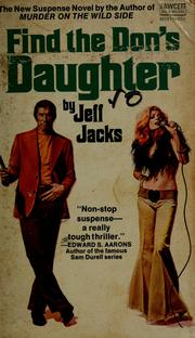 Cover of: Find the Don's daughter by C. K. Chandler