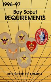 Cover of: Boy Scout requirements | Boy Scouts of America