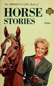 Cover of: American Girl book of horse stories | American Girl (Periodical)
