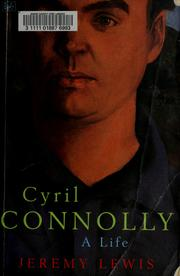 Cover of: Cyril Connolly by Jeremy Lewis