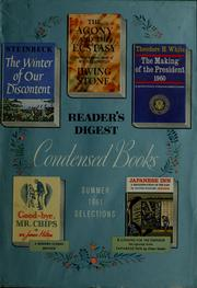 Cover of: Reader's digest condensed books | John Steinbeck