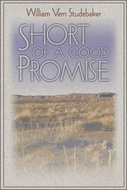 Cover of: Short of a good promise