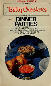 Cover of: Betty Crocker's dinner parties | Betty Crocker