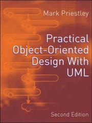 Cover of: Practical Object-oriented Design with UML