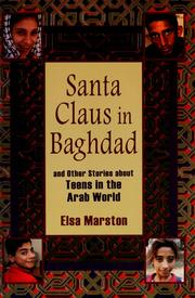 Cover of: Santa Claus in Baghdad and other stories about teens in the Arab world | Elsa Marston