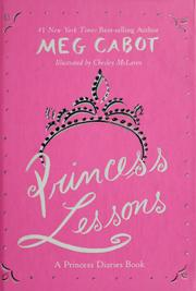Cover of: Princess lessons | Meg Cabot