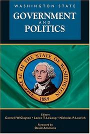 Cover of: Washington State Government and Politics |