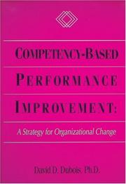 Cover of: Competency Based Performance Improvement