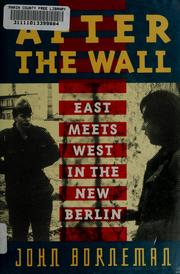 Cover of: After the wall | John Borneman