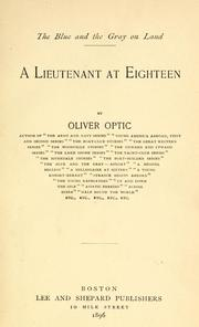 A lieutenant at eighteen
