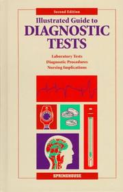 Cover of: Illustrated guide to diagnostic tests