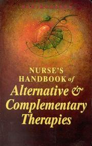 Cover of: Nurse's handbook of alternative & complementary therapies