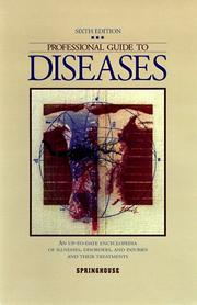 Cover of: Professional guide to diseases. |