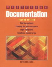 Cover of: Mastering documentation. |