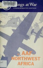 Cover of: The AAF in Northwest Africa |