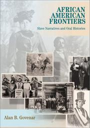 Cover of: African American frontiers
