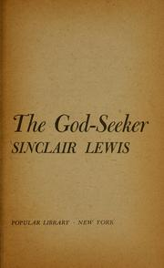 The God-seeker by Sinclair Lewis