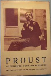 Cover of: Marcel Proust, documents iconographiques