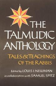 Cover of: Talmudic Anthology