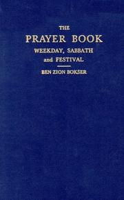 Cover of: Siddur: Prayer Book