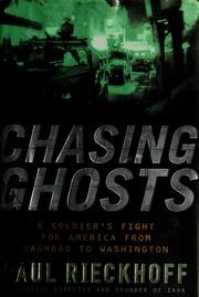 Cover of: Chasing Ghosts | Paul Rieckhoff