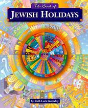 Cover of: The Book of Jewish holidays | Ruth Kozodoy