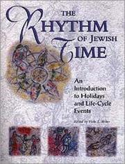 Cover of: The Rhythm of Jewish Time