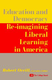 Cover of: Education and Democracy