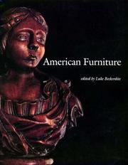 Cover of: American Furniture 1994 (American Furniture)