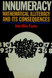 Cover of: Innumeracy | John Allen Paulos
