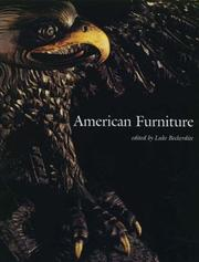 Cover of: American Furniture 1996 (American Furniture)