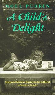 Cover of: A child's delight
