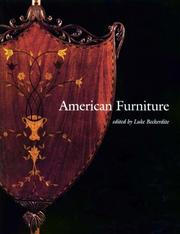 Cover of: American Furniture 1998 (American Furniture) | Luke Beckerdite