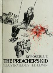 Cover of: The preacher's kid by Rose Blue