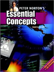Cover of: Peter Norton's Essential Concepts