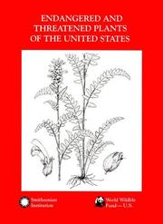 Cover of: Endangered and threatened plants of the United States