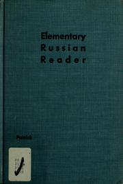 Elementary Russian reader