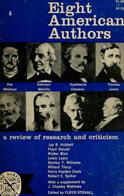 Cover of: Eight American authors