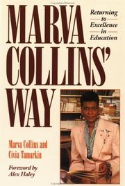 Cover of: Marva Collins' Way: Returning to Excellence in Education